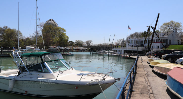 Photo of Wilmette Harbor