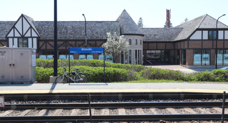 Wilmette Metra Station image | ChicagoHome Brokerage Network at @properties